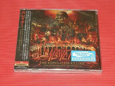 Slayer The Repentless Killogy Live At The Forum In Inglewood, Ca  Japan 2 Cd Set