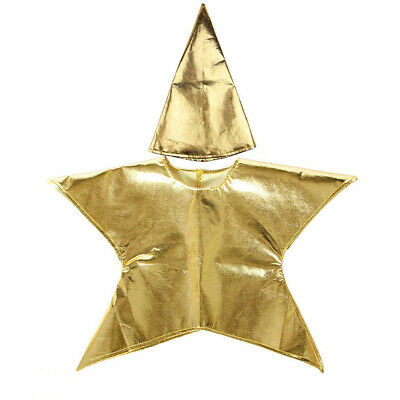 Christmas Nativity Kids Star Costume Boys Girls Xmas Party Fancy Dress Costumes
