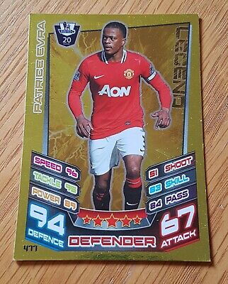 Adrenalyn XL manchester united 11//12 #065 patrice evra-Special