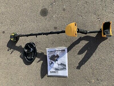 USED Garrett Ace 250 Ground Search Metal Detector & 2 Coils Very Nice Shape