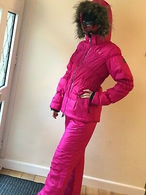 New Girls Dare2B Ski Suit  Ski Jacket & Ski Trousers, Age 15-16,  Pink, Size 8