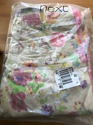 BNWT FROM NEXT Girls 2 PACK of leggings 16 years 1 Pink 1 Floral Holidays