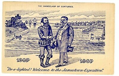 Political -PRESIDENT THEODORE ROOSEVELT AT JAMESTOWN VA EXPOSITION- Postcard