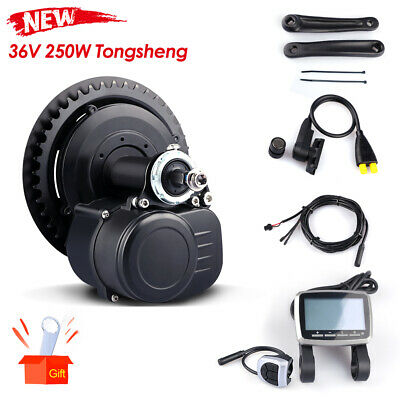 Tongsheng 36V 250W TSDZ2 Mid Motor Torque Sensor Electric Bicycle Conversion Kit
