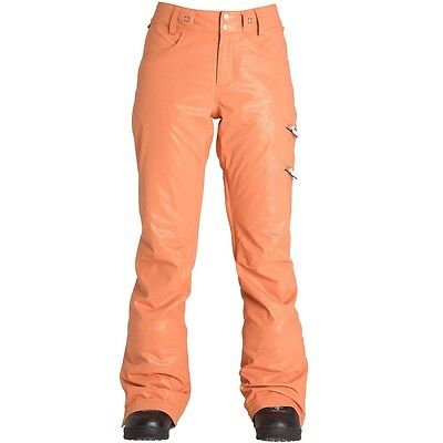 BILLABONG Women's BRIGHT BLIZZARD Snow Pants - Copper Small NWT  LAST ONE LEFT