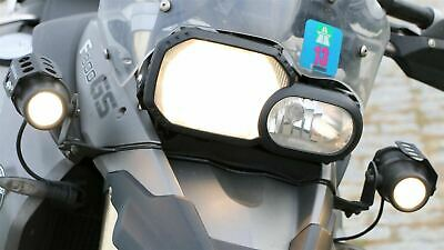 BMW F800 GS fog light mounting bracket pair 08-12