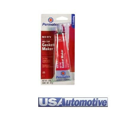 Permatex High-Temp Red RTV Silicone Gasket Maker 81160