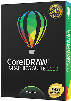 CorelDRAW Graphics Suite 2019 🌟 Limited Edition 🌟 Unlimited Users and PC (30s)