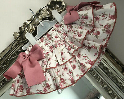 Bogoleta Couture Beautiful Rara Bloomers With Bows, PERFECT, 9m, Must Have Item.