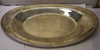 "Oneida USA OL Silver Plated Platter 13.5""L x 7"" W In Real Good Condition"