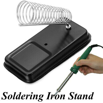 Soldering Iron Bracket Electric Welding Stand Holder Metal Support Station