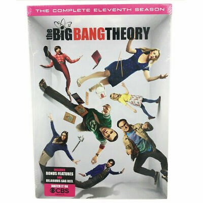 The Big Bang Theory: The Complete Eleventh Season 11 (DVD, 2018) New & Sealed