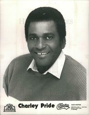 1989 Press Photo Charley Pride country music singer - dfpb35039