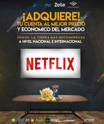Gift Netflix  With  Warranty , In The Different Plans!!!!!