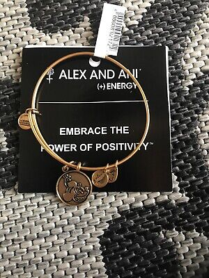 Disney world *NWT*Alex And Ani*disney parks gold bangle*Minnie mouse*great gift