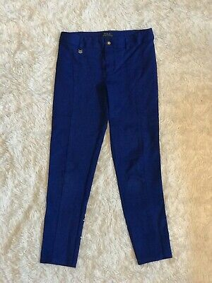 Ralph Lauren Royal Blue Trousers Size M Girls Age 8-10