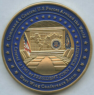 2019 President Donald Trump White House SITUATION ROOM West Wing Challenge Coin