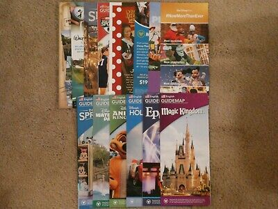 15 Brand New 2019 Disney World Theme Park Maps + Bonus Info!