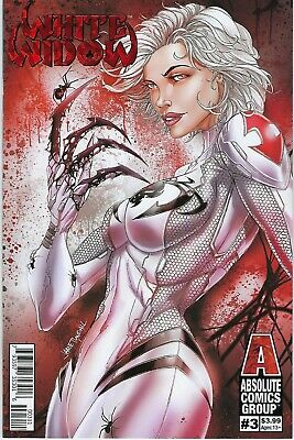 White Widow # 3 Jamie Tyndall Red Foil Variant Cover  !!  Nm