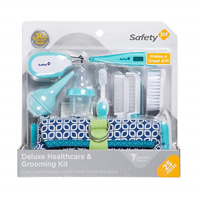 Safety 1st Deluxe 25-Piece Baby Healthcare and Grooming Kit Arctic Blue