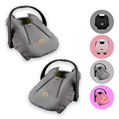 Cozy Cover Infant Car Seat Cover Charcoal - The Industry Leading Infant Carrier