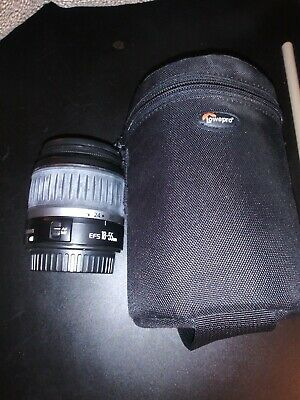 Canon Zoom Lens EF-S 18-55mm 1:3.5-5.6 II w/Bag