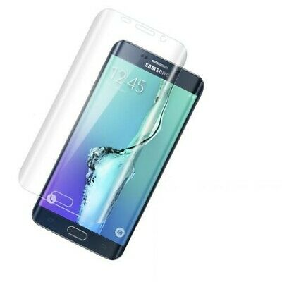 Full Coverage Curved HD Clear Cover Screen Protector Film for Samsung S8 Plus #2