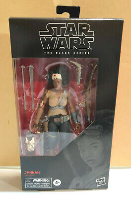 Star Wars Hasbro EP9 Black Series Jannah 6 Inch Action Figure New in Stock