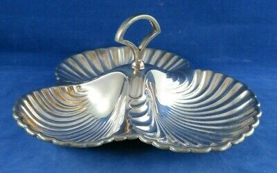 Vintage Mappin & Webb Shell Plate, Nut dish, mint dish, centerpiece, candy dish