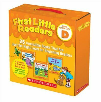 First Little Readers Parent Pack: Guided Reading Level D 25 Irr... 9781338111507