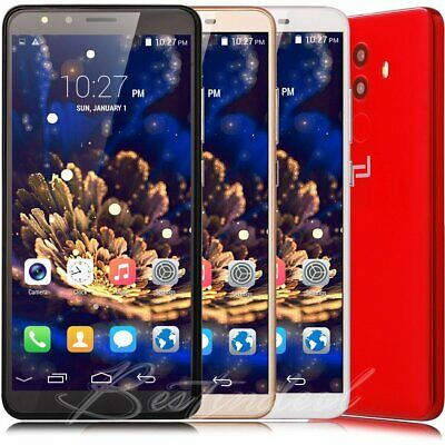 """Cheap 5.5"""" Android 8.0 Quad Core Touch Mobile Phone 3G GSM Dual SIM Smartphone"""