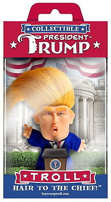 President Donald Trump Collectible Troll Doll Make America Great Again Figure R