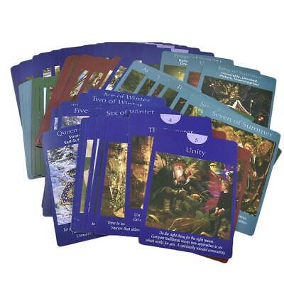 Fairy Tarot Cards: A 78-Card Deck and Guidebook New Cards Book by Doreen Virtue