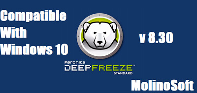 Deep Freeze Standard 8.30 Lifetime✅ Compatible with Windows 10✅ Digital Download