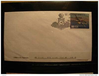 USA Railroad Station Wilton 1998 Matasellos Cancel Cover Sobre Enveloppe