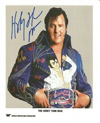 The Honky Tonk Man signed 10x8 colour photo. American wrestler. A1894