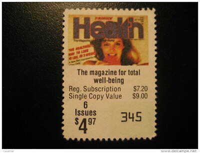 HEALTH Care Medicine Sante Review News Magazine Coupon Discount Poster Stamp Lab