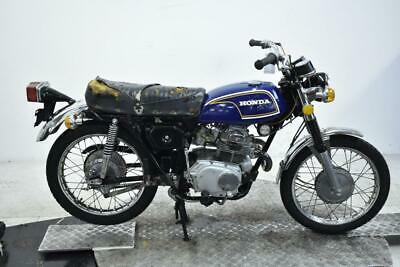 1972 Honda CL175K6 Unregistered US Import Barn Find Classic Restoration Project