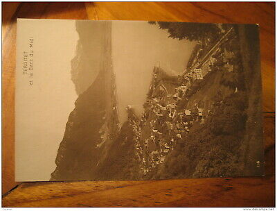 TERRITET Et La Dent Du Midi Mountain Mountains Montreux Post Card VAUD Switzerla