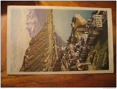 TERRITET Et Dents Du Midi Mountain Mountains Montreux Post Card VAUD Switzerland