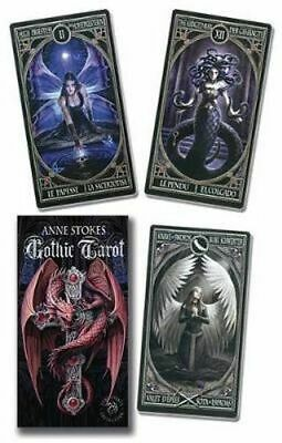 NEW Anne Stokes Gothic Tarot Deck By Lo Scarabeo Card or Card Deck Free Shipping