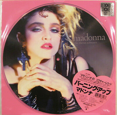 """MADONNA """"THE FIRST ALBUM"""" lp picture disc limited edition RSD sealed"""