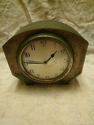 Old English Mantel Clock For Spares Or Repairs