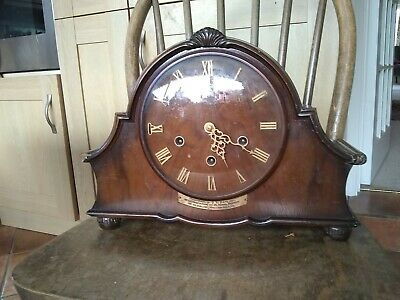 "Smiths Mantle Clock With Westminster Chime 14x10""x5.25"""