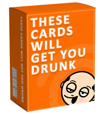 These Playing Cards Will Get You Drunk Fun Adult Drinking Game For Parties UK