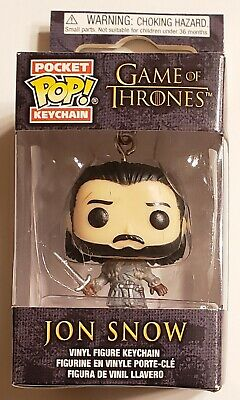 Funko Pop Pocket Keychain Game of Thrones GOT Jon Snow Vinyl Figure #31812 New