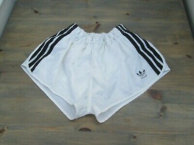 "Genuine Adidas true vintage ""glanz"" nylon SPRINTER shorts, D8, UK 38"""