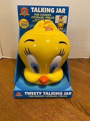 TWEETY BIRD Large COOKIE JAR Looney Tunes  Funomenon - 1998 Warner Brothers