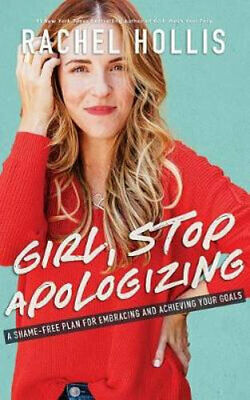 NEW Girl, Stop Apologizing By Rachel Hollis Audio CD Free Shipping