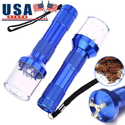 2PACK Electric Herb Tobacco Aluminum Metal Grinder Spice Crusher Muller Cracker